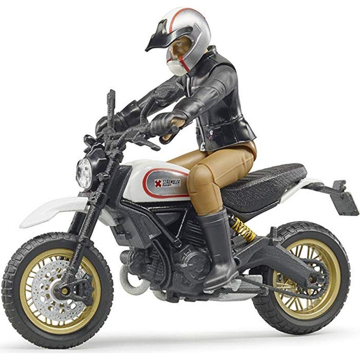 Bruder 63051 Scrambler Ducati Desert Sled s vodičom