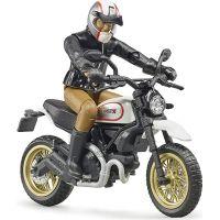 Bruder 63051 Scrambler Ducati Desert Sled s vodičom 2