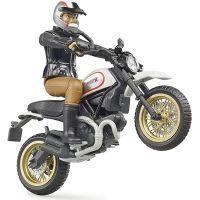 Bruder 63051 Scrambler Ducati Desert Sled s vodičom 4
