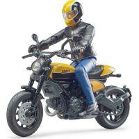 Bruder 63053 Motorka Ducati terénne s motorkárom