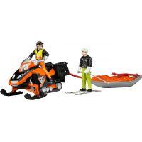 Bruder 63100 snežný skúter s jazdcom
