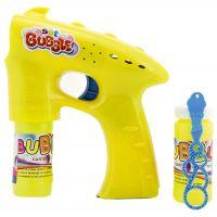 Bublifuková pištoľ s náplňou žltá