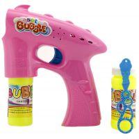 Bublifuková pištoľ s náplňou ružová