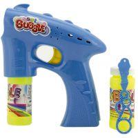 Bublifuková pištoľ s náplňou modrá