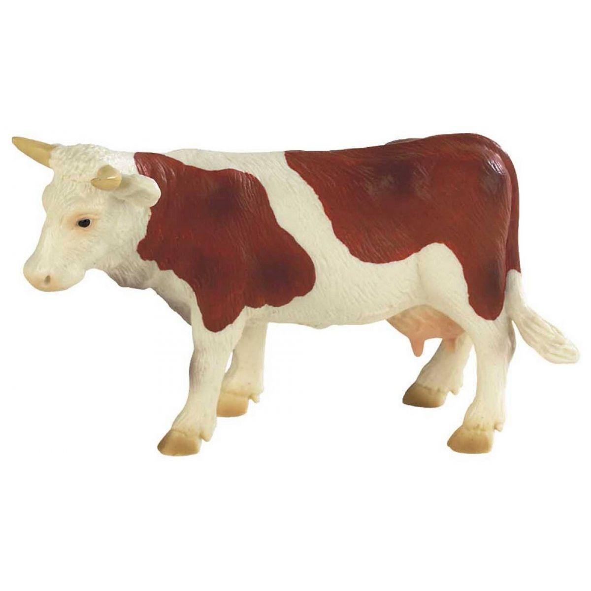 Bullyland Kráva Fanny hnědo-bílá