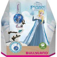 Bullyland Disney Ledové králoství set 2 ks Elsa a Olaf + přívěšek