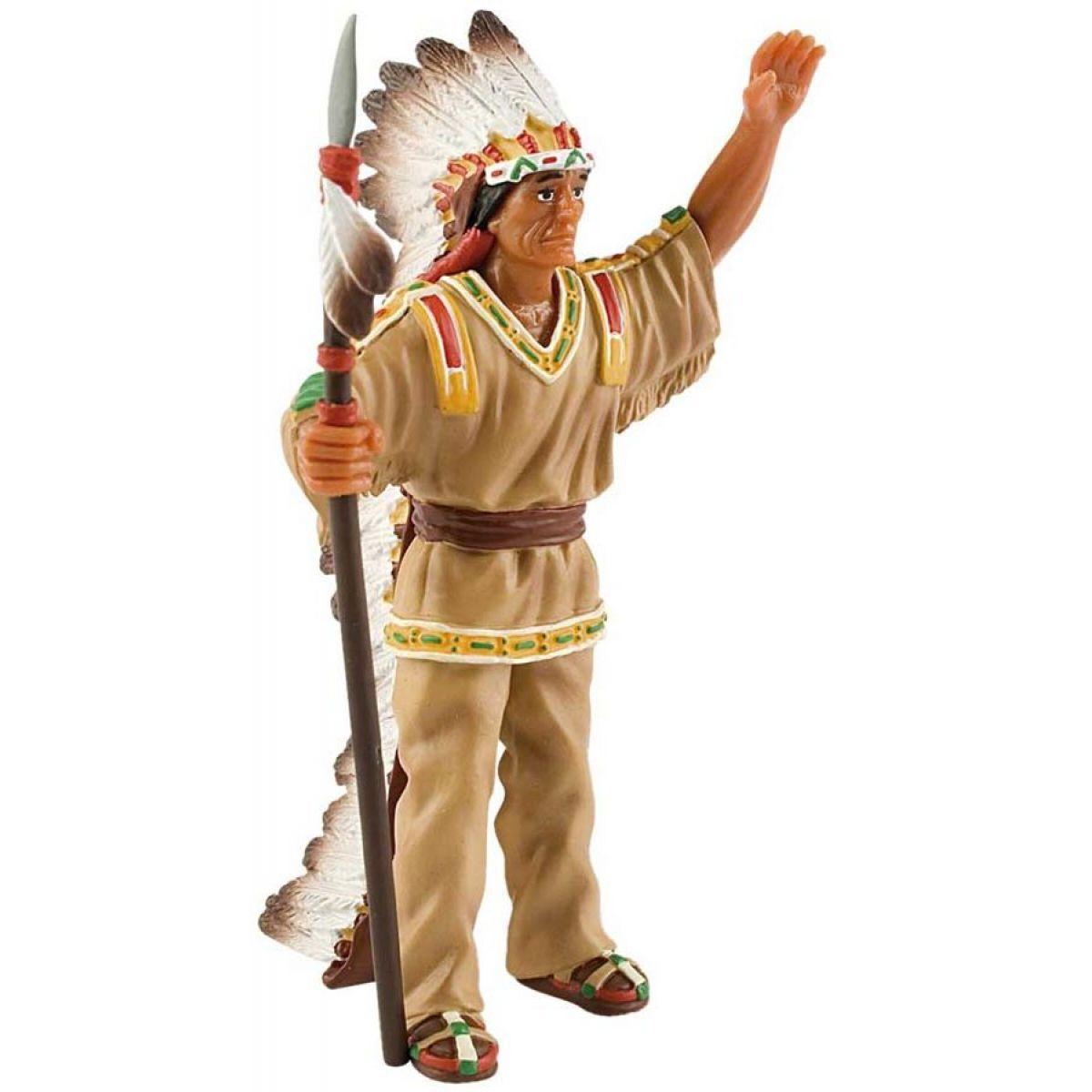 Bullyland Indiánský náčelník
