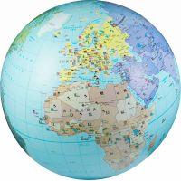 Caly Nafukovacie globus Zemeguľa 85 cm