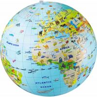 Caly Nafukovací globus Zvířata 50 cm