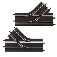 Carrera GO Mechanická výhybka ľavá a prava