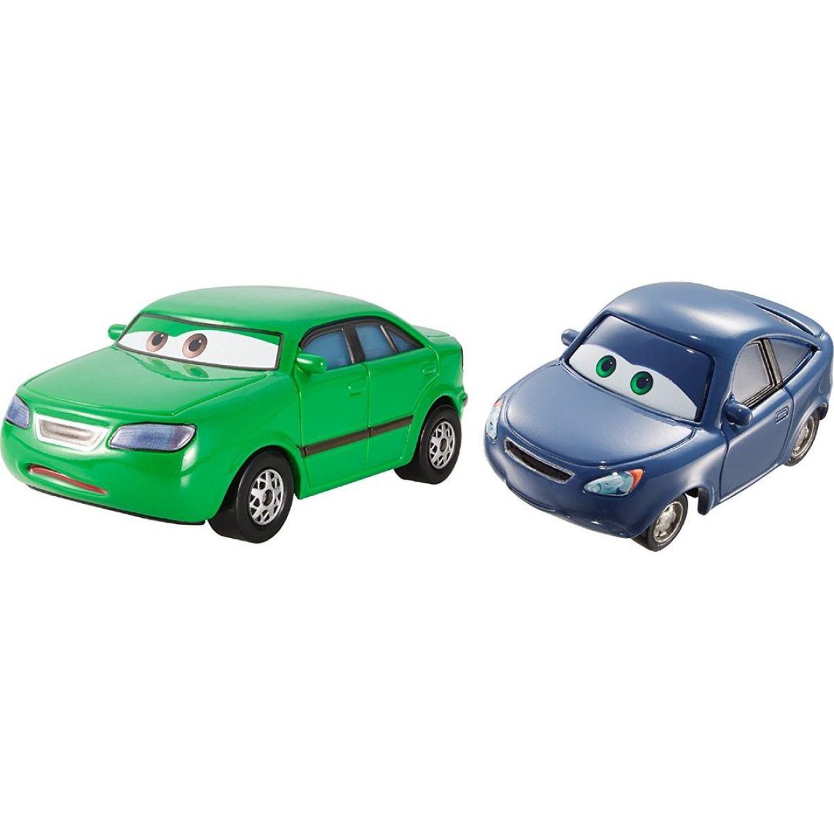 Mattel Cars 2 Autíčka 2ks Dan Sclarkenberg a Kim Carllins