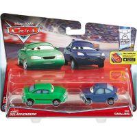 Mattel Cars 2 Autíčka 2ks Dan Sclarkenberg a Kim Carllins 2