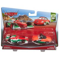 Mattel Cars 2 Autíčka 2ks - Francesco Bernoulli a Giuseppe Motorosi 2