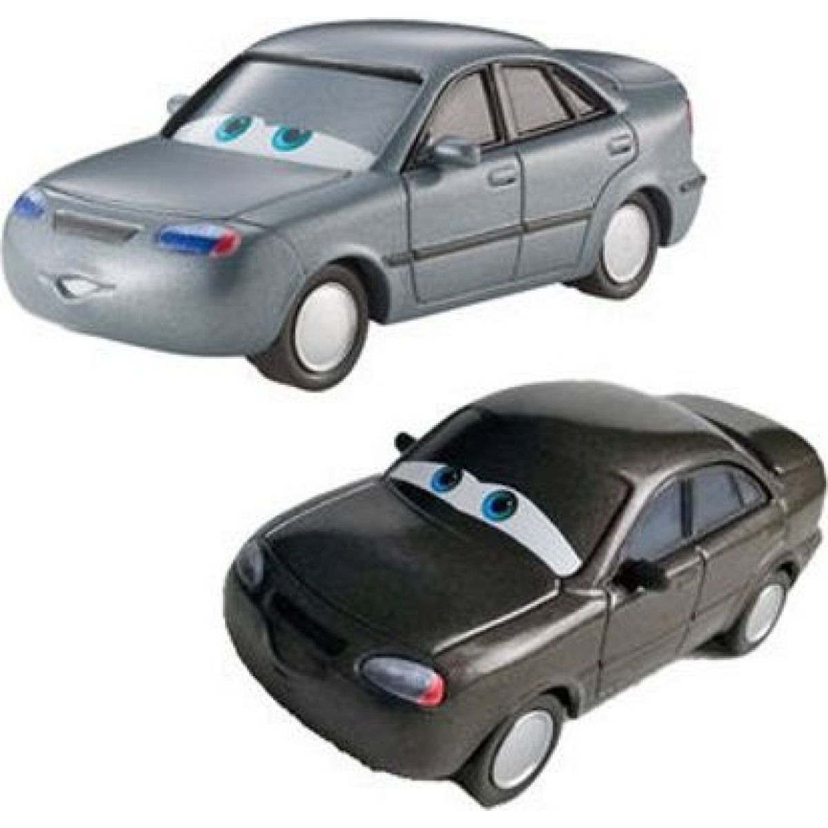 Mattel Cars 2 Autíčka 2ks Heather Drifeng a Michelle Motoretta