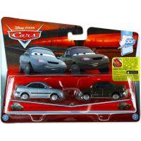 Mattel Cars 2 Autíčka 2ks Heather Drifeng a Michelle Motoretta 2