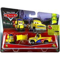 Mattel Cars 2 Autíčka 2ks Jeff Gorvette Pitty a John Lassetire 2