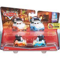 Mattel Cars 2 autíčka 2ks Y0506 Okuni a Shigeko 4