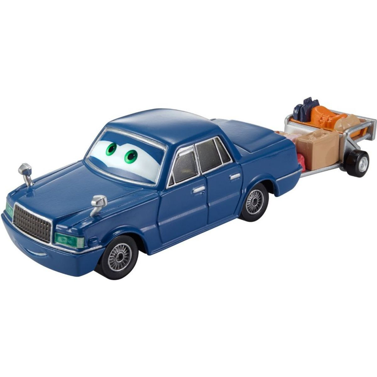Mattel Cars Velká auta Y0539 Trent Crow