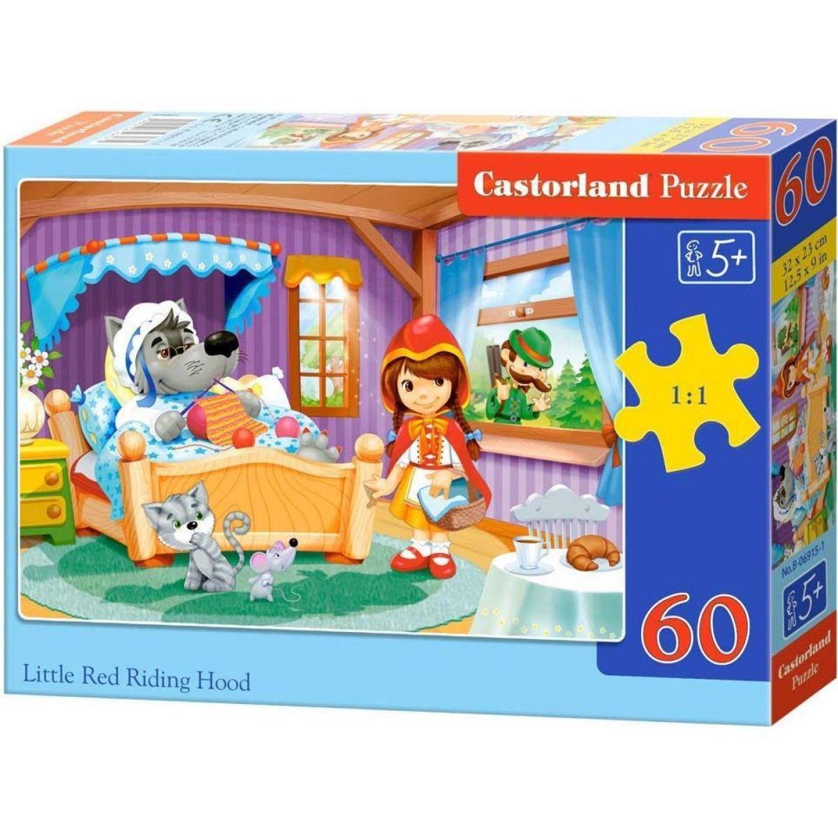 Castorland Puzzle Červená čiapočka 60 dielikov