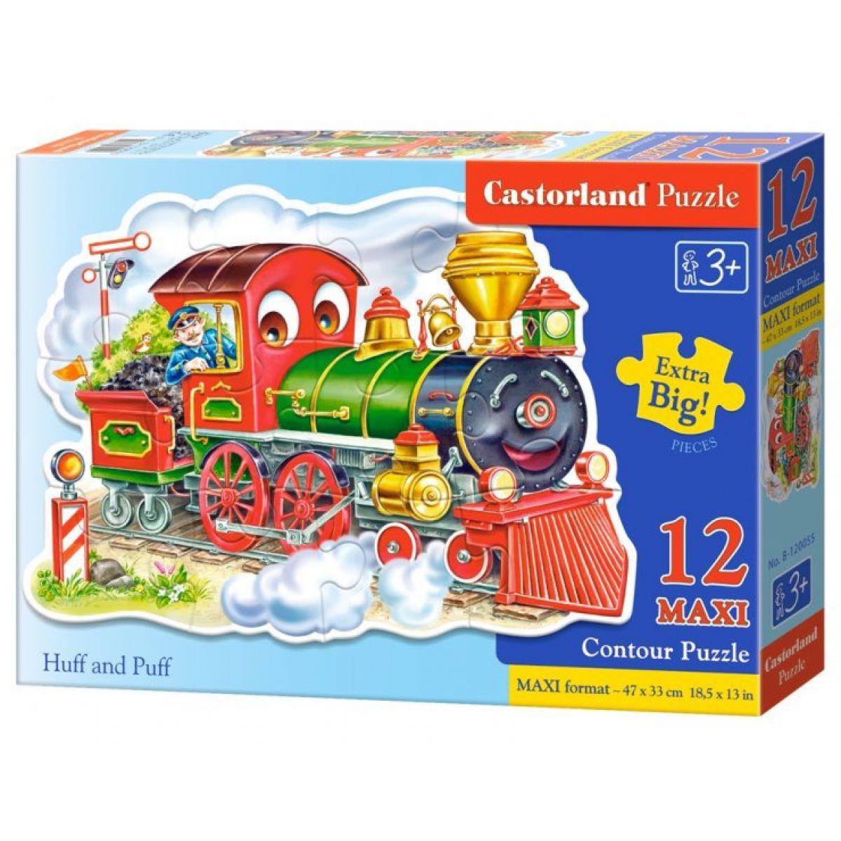 Castorland Puzzle 12 Maxi Lokomotíva