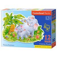 Castorland Puzzle 12 Maxi Sloni
