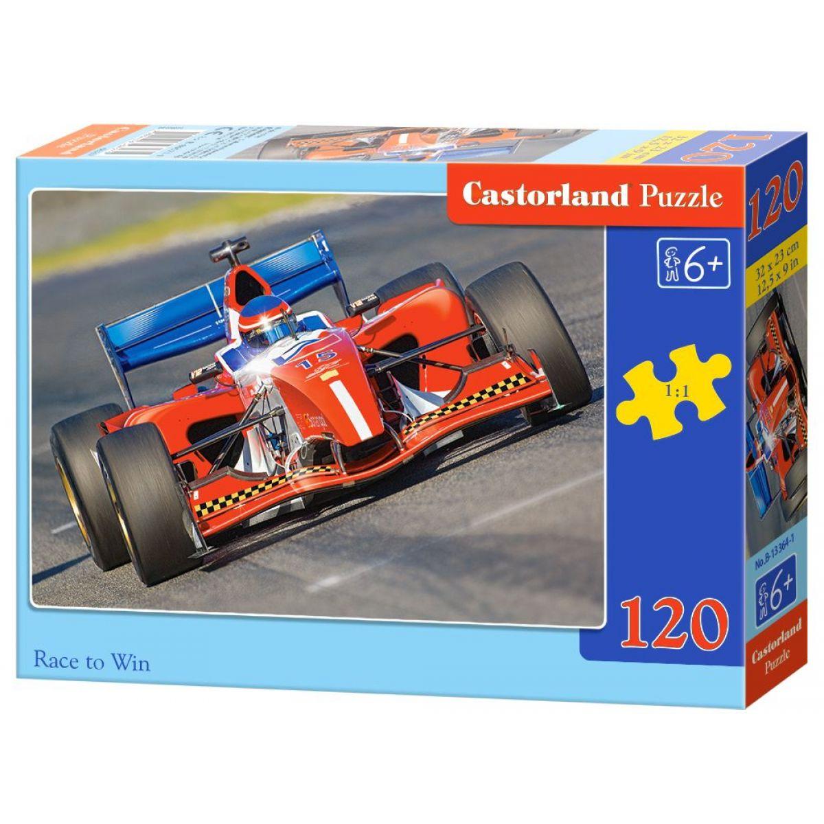 Castorland Puzzle 120 dielikov -Vítěz závodu