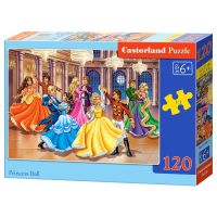 Castorland Puzzle 120 dielikov Bál pre princeznú