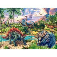 Castorland Puzzle 120 dielikov Dinosaurské vulkány 2
