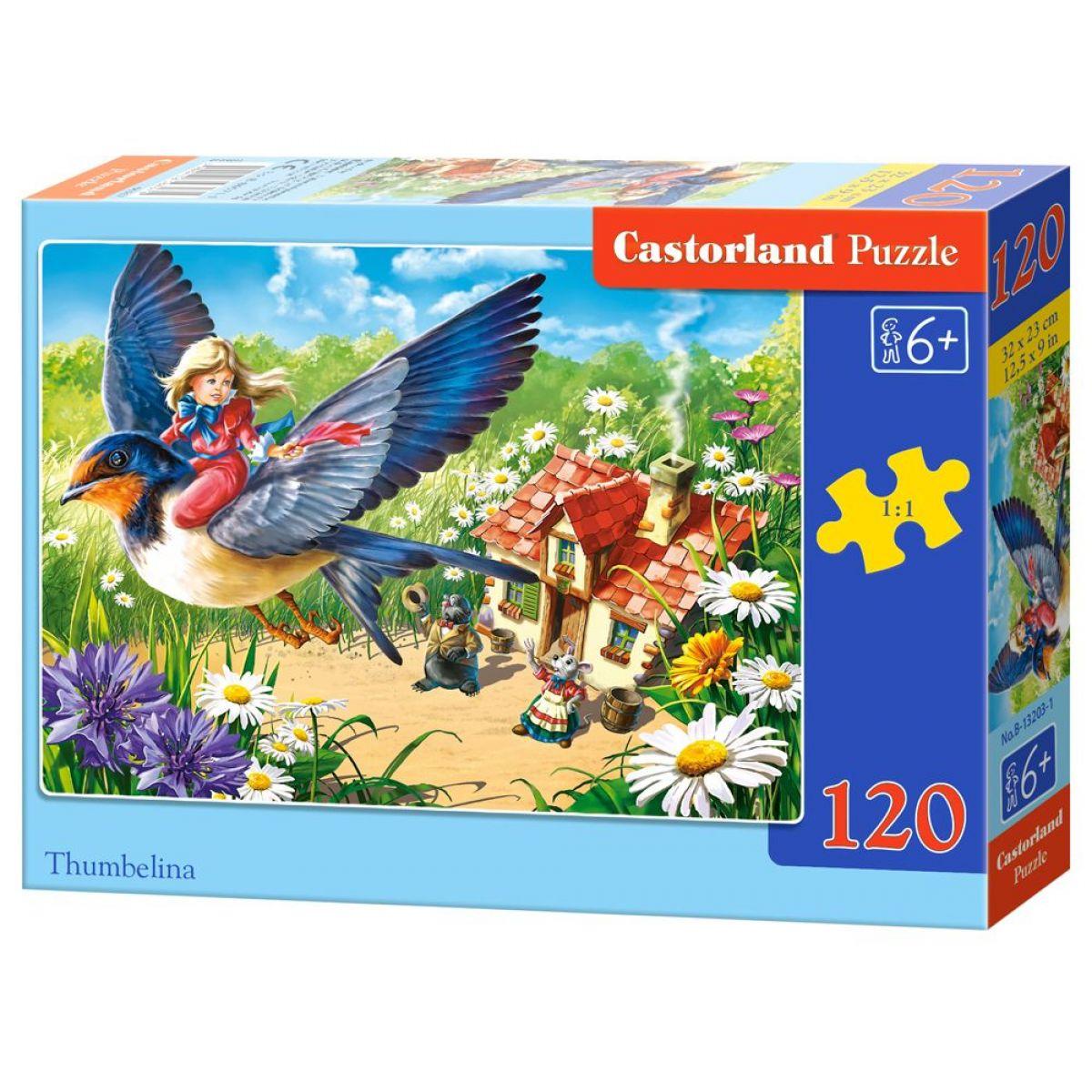 Castorland Puzzle 120 dielikov Malenka