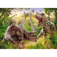 Castorland Puzzle 180 dielikov Dinosaurie bitka 2