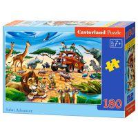 Castorland Puzzle 180 dílků Dobrodružství na safari