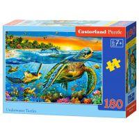 Castorland Puzzle 180 dílků Želvy a jejích svět
