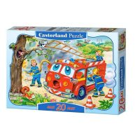 Castorland Puzzle 20 Maxi Hasičské auto