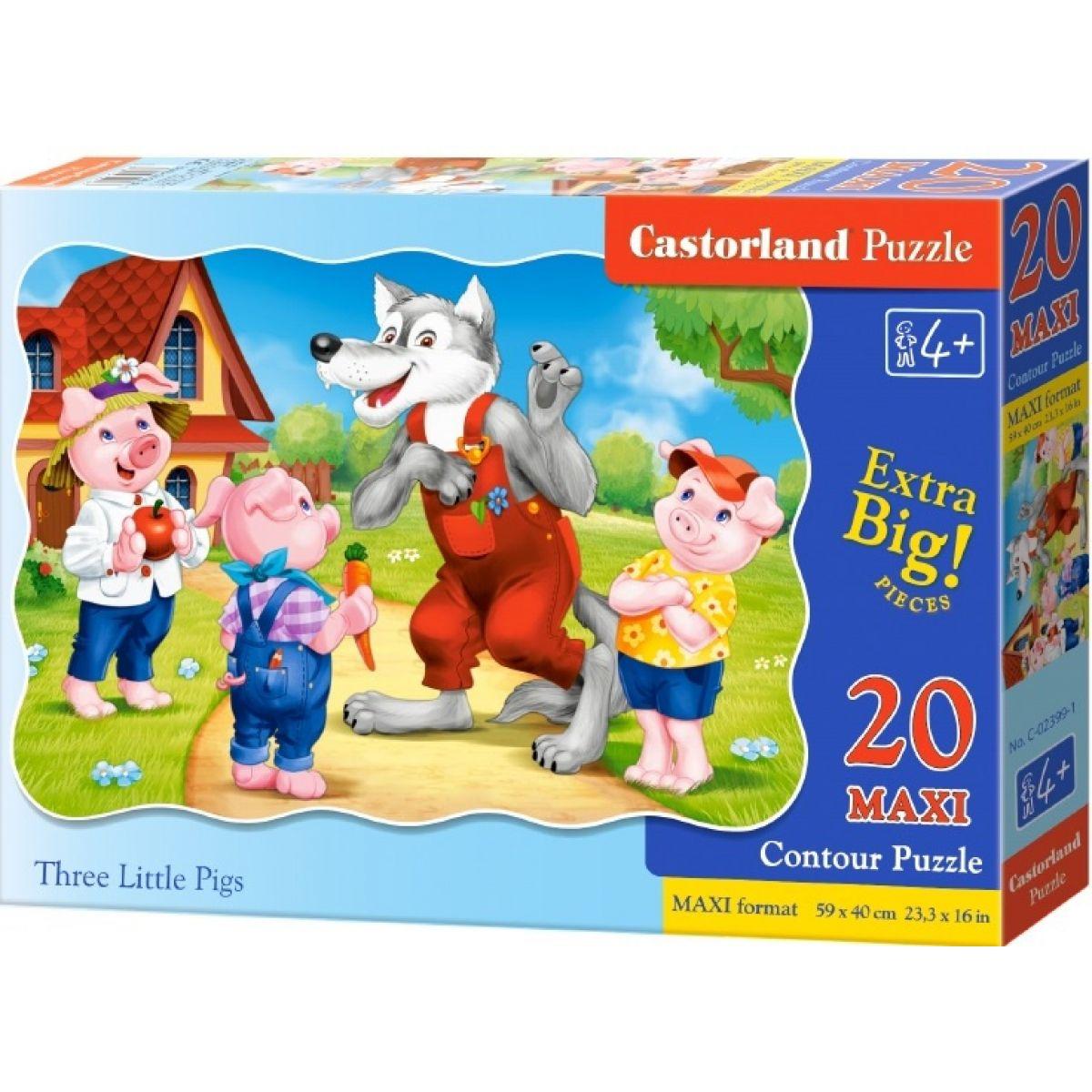 Castorland Puzzle 20 Maxi Tri malé prasiatka