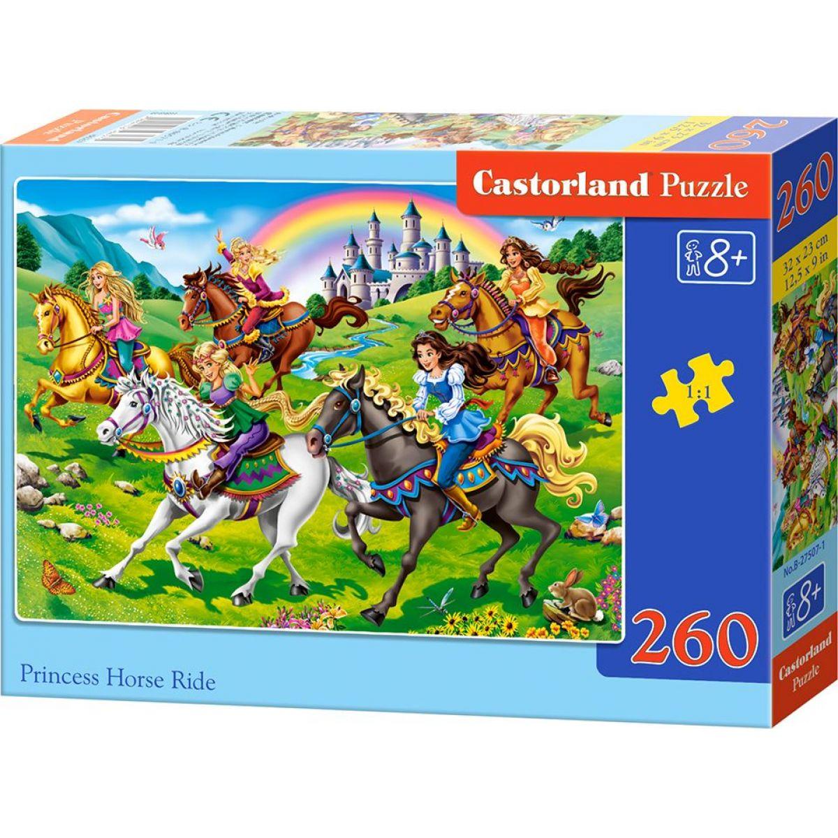 Castorland Puzzle 260 dielikov Princezné na vychádzke