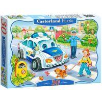 Castorland Puzzle 30 dielikov Bezpečnosť predovšetkým