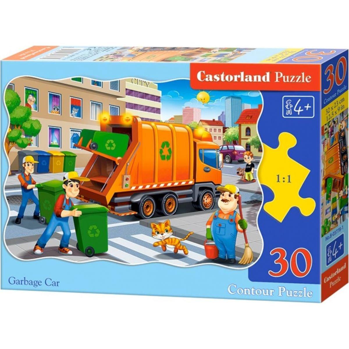 Castorland Puzzle 30 dielikov Smetiarske auto