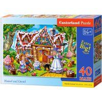 Castorland Puzzle 40 Maxi Jeníček a Mařenka