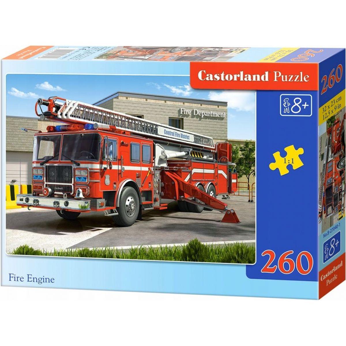 Castorland Puzzle Hasičské auto 260 dielikov