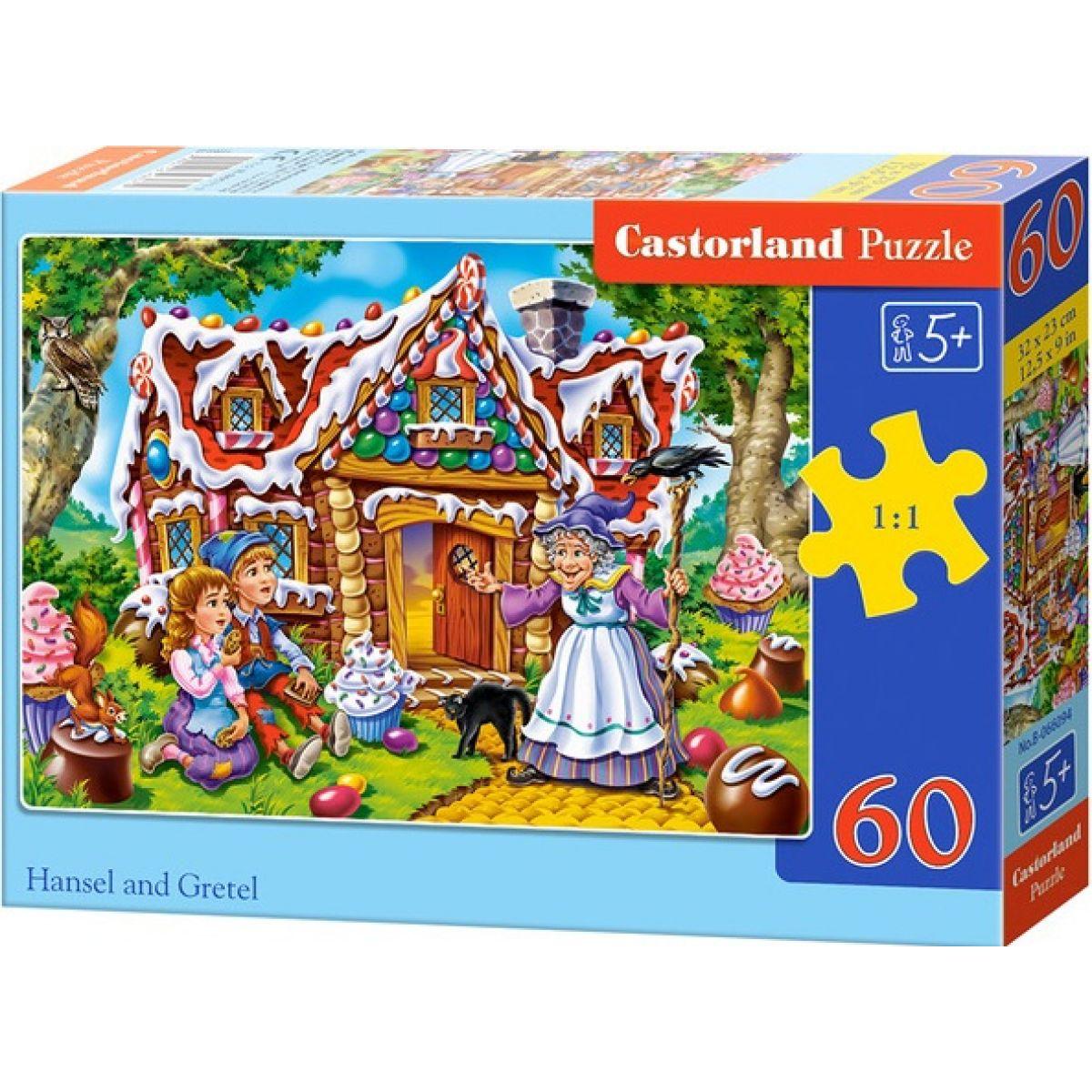 Castorland Puzzle Janko a Marienka 60 dielikov