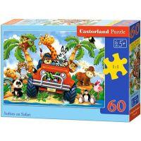 Castorland Puzzle jízda na safari 60 dílků