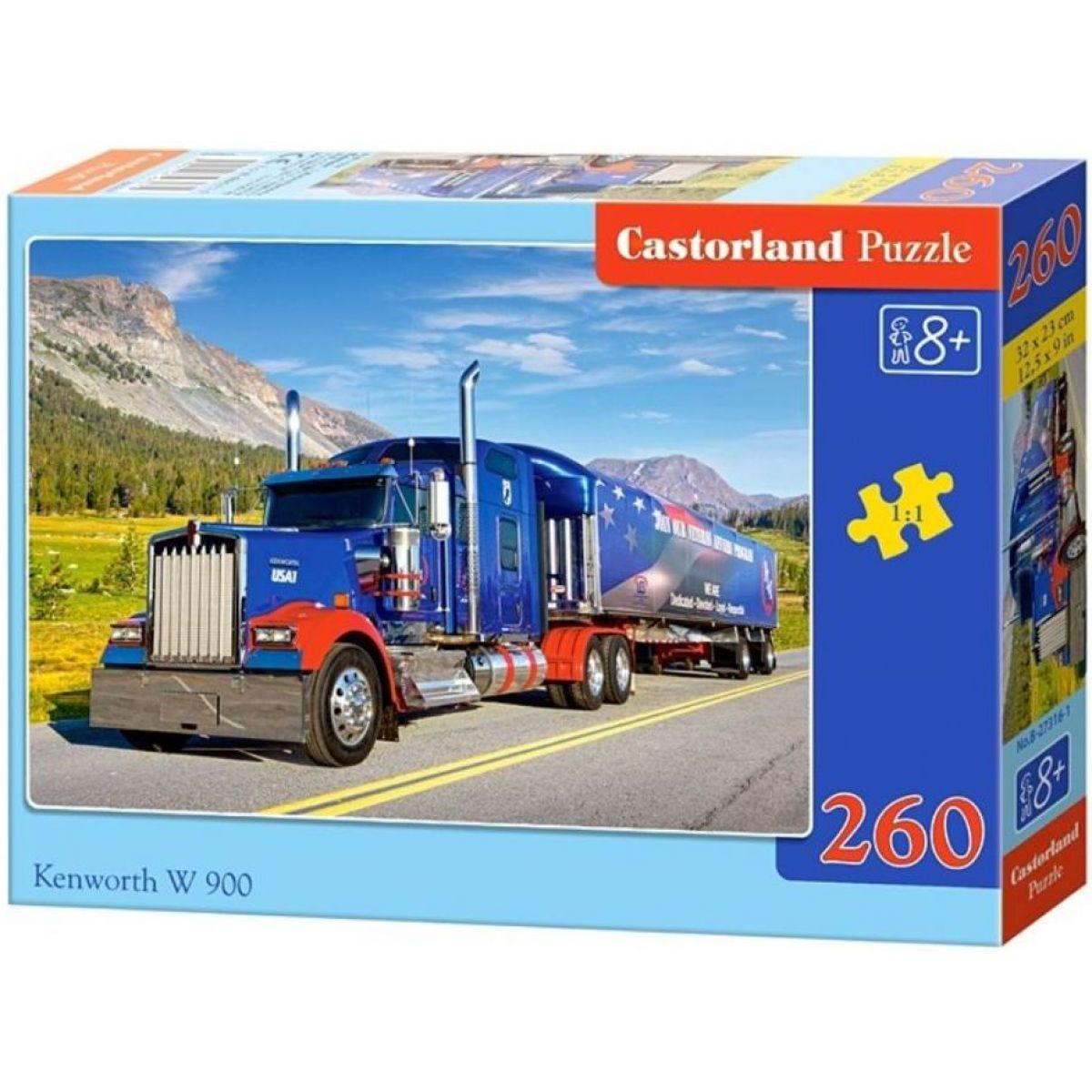 Castorland Puzzle Kamión Kenworth W900 260 dielikov