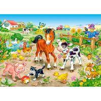 Castorland Puzzle Na farma 120 dielikov 2