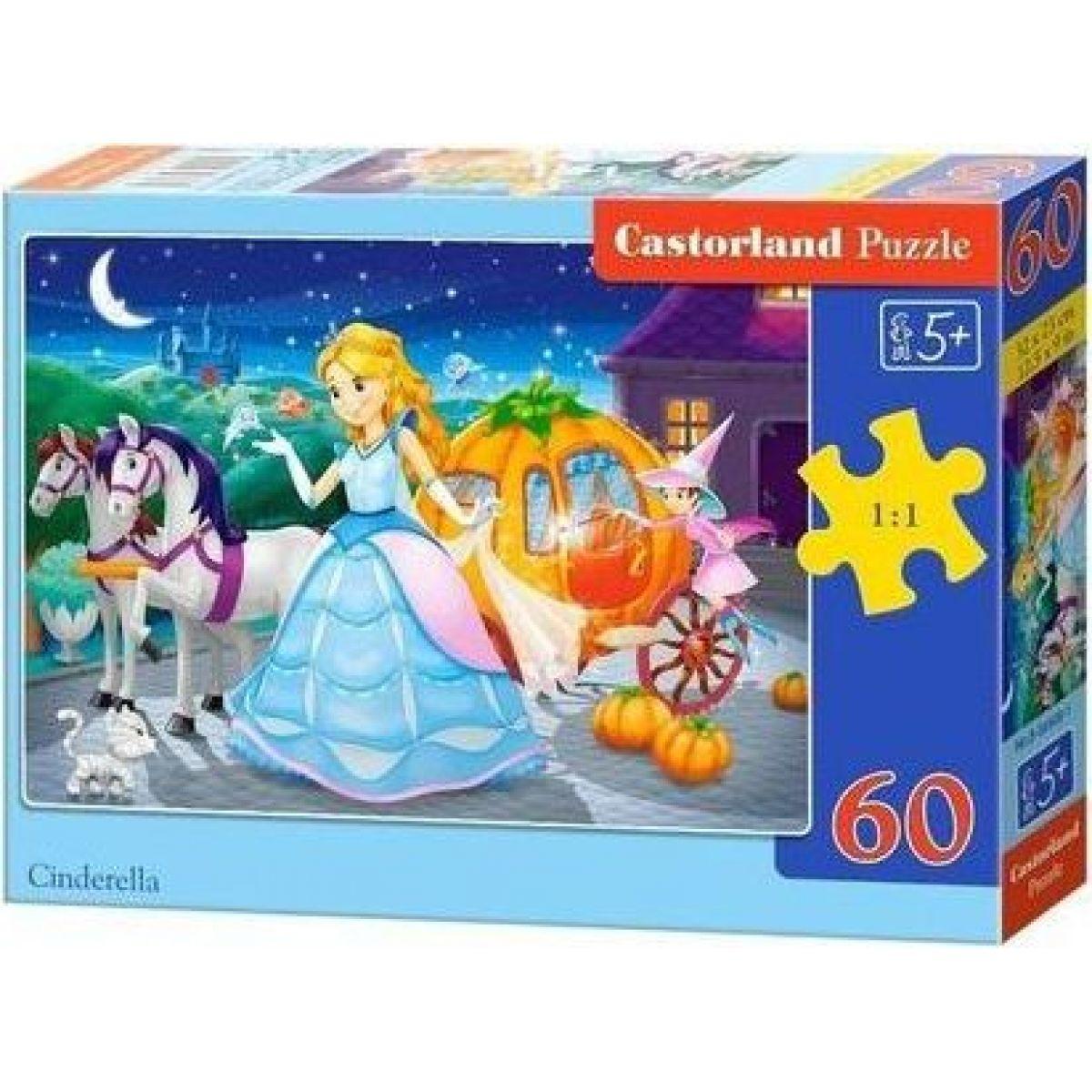 Castorland Puzzle Popoluška 60 dielikov