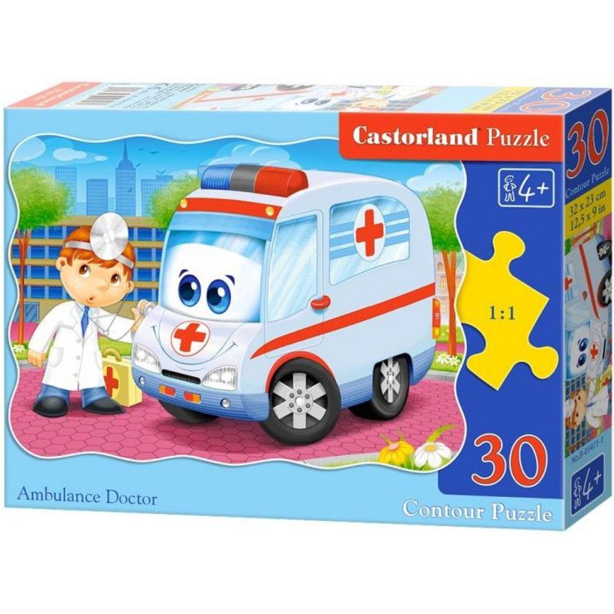 Castorland Puzzle Sanitka 30 dielikov