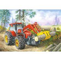 Castorland Puzzle Traktor nakladač 60 dielikov 2