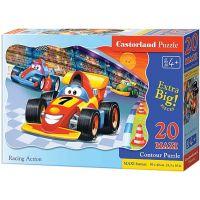 Castorland Puzzle Závod formulou 20 maxi dielikov