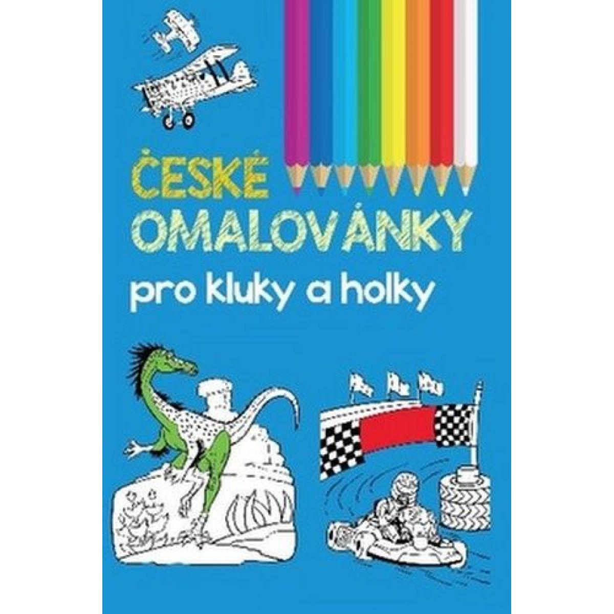 České maľovanky pre chlapcov a dievčatá