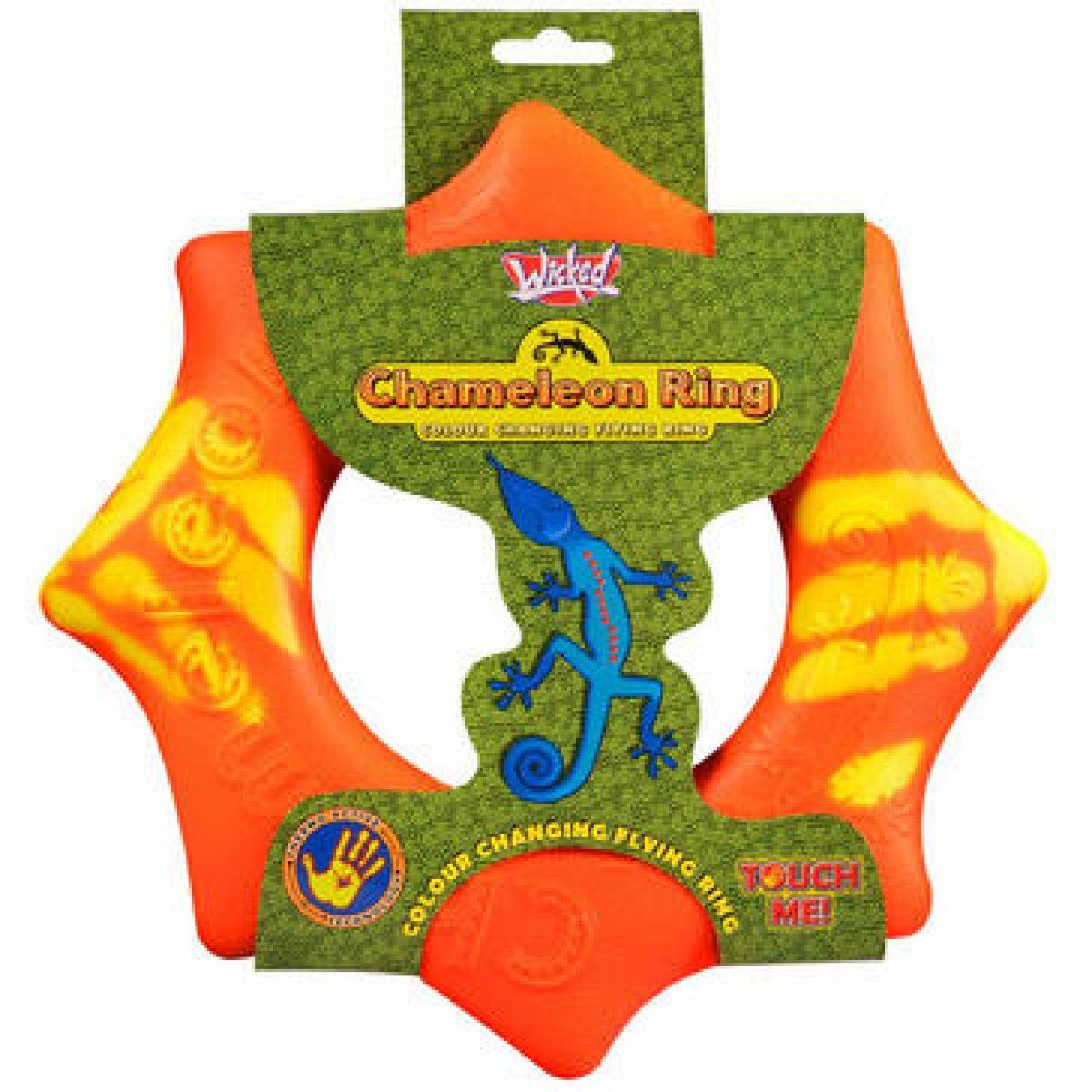 EP Line Chameleón lietajúci kruh 24 cm - Oranžová