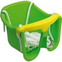 Chemoplast Hojdačka Baby plastová Zelená